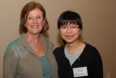 Dean Virginia McLaughlin and Xianxuan Xu